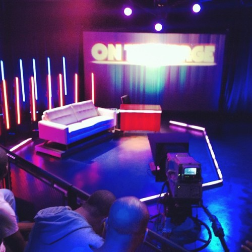 "We are inside ""On the Verge"" studio. (Taken with Instagram at On The Verge)"