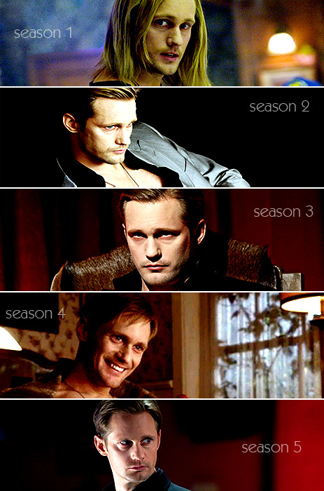 Eric Northman through the seasons