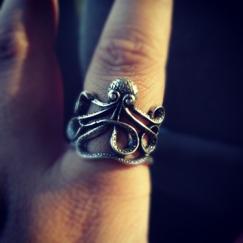 MY AWESOME #OCTOPUS #RING #OCEAN #ANIMAL #SEA #LOVE (Taken with Instagram)