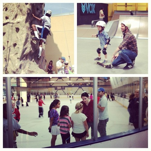 "breannesparksduren:  ""Joyful times hangin w kids at Salvation Army Kroc Center today in San Diego"""
