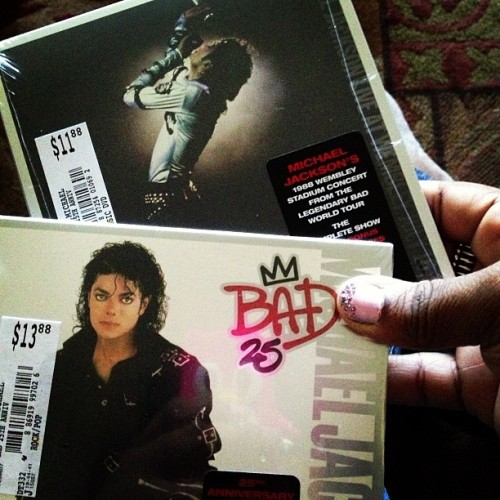 #michaeljackson #bad #25thanniversary #love #live #music #kingofpop (Taken with Instagram)