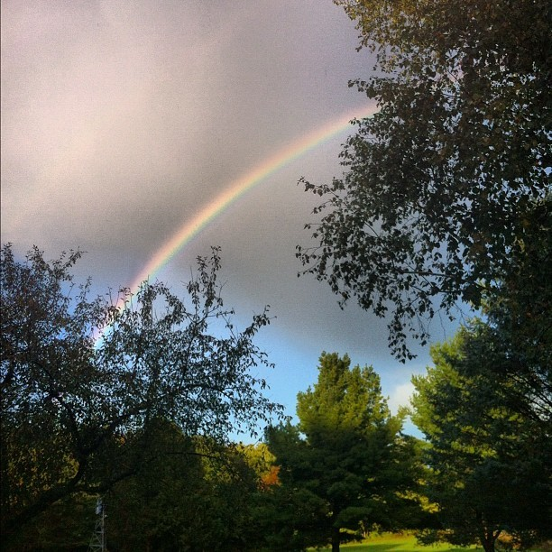 Rainbow 😊🌈 (Taken with Instagram)