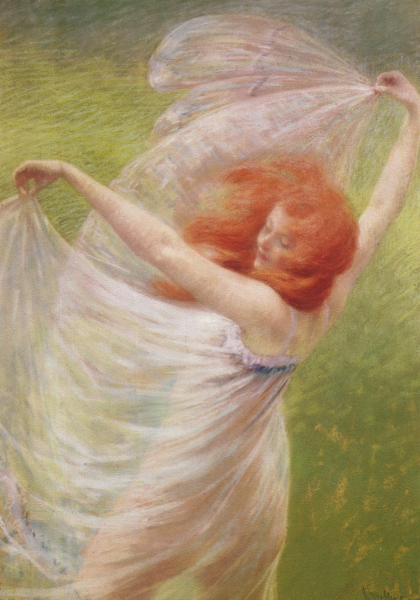 Josef Engelhart, The Wind, 1897