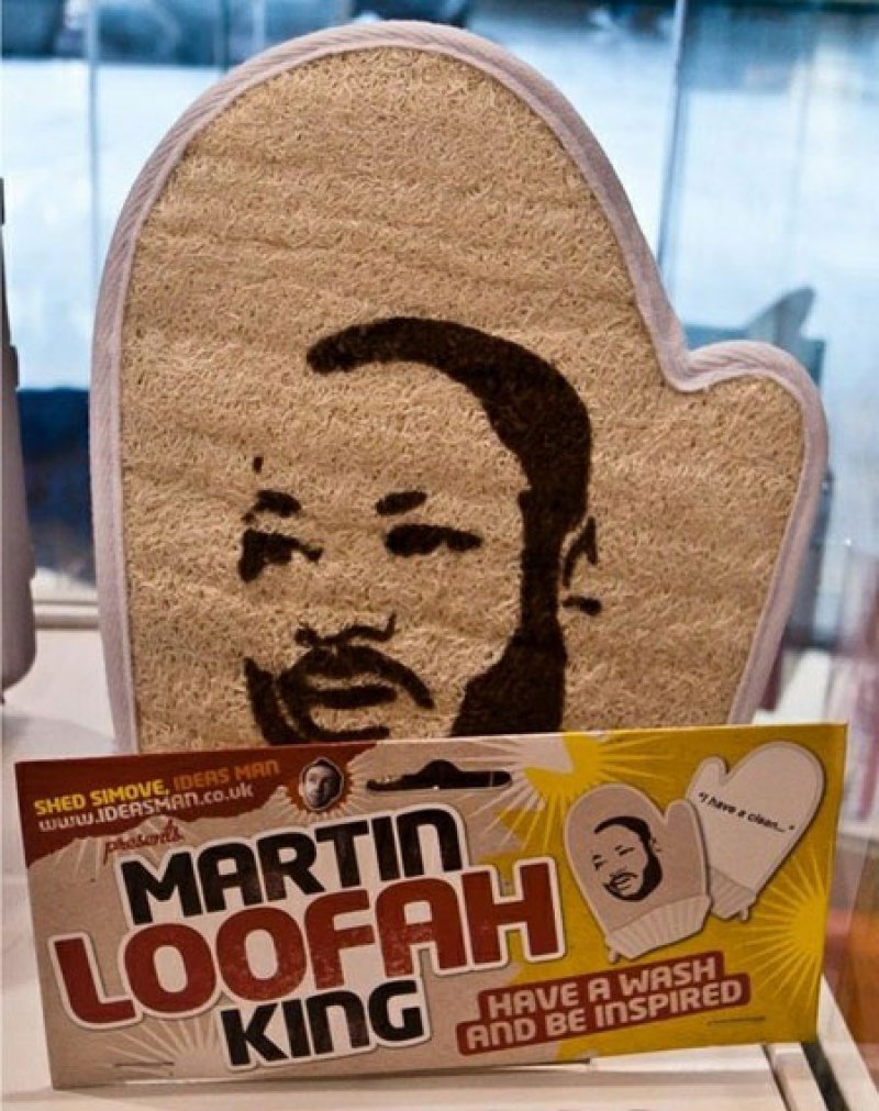 collegehumor:  Martin Loofah King I have a dream that my skin will be nice and clean after this shower.  I need this.