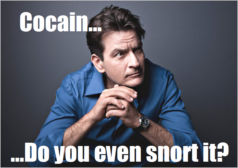 "Here's a ""Do you even"" meme with Charlie Sheen. There ya go!"