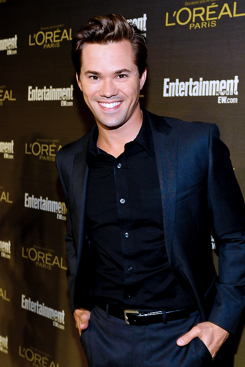 Andrew Rannells attends the 2012 Entertainment Weekly Pre-Emmy Party at Fig & Olive Melrose Place on September 21, 2012 in West Hollywood, California.