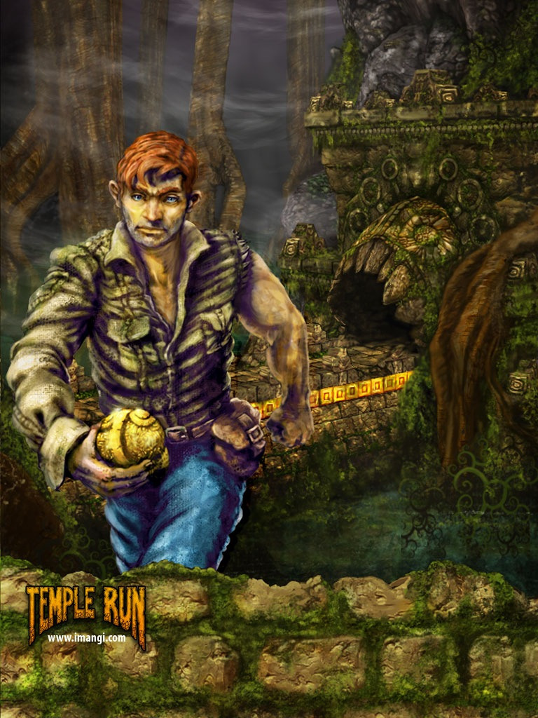 Love temple run