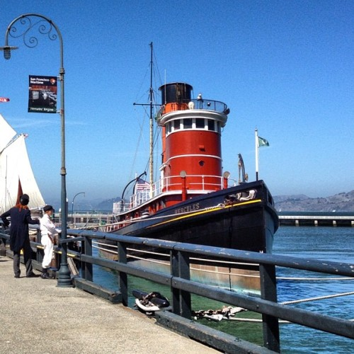 Hyde Street Pier (Taken with Instagram)