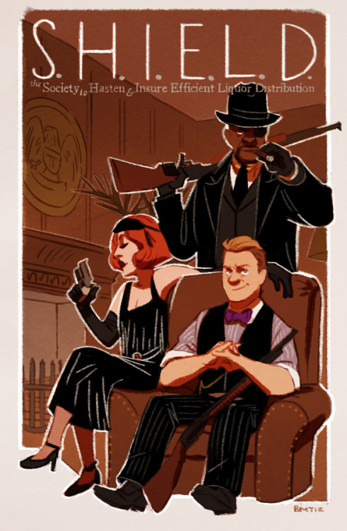 "lawless boardwalk bootlegging au ""errybody got guns!"" More: Thor 