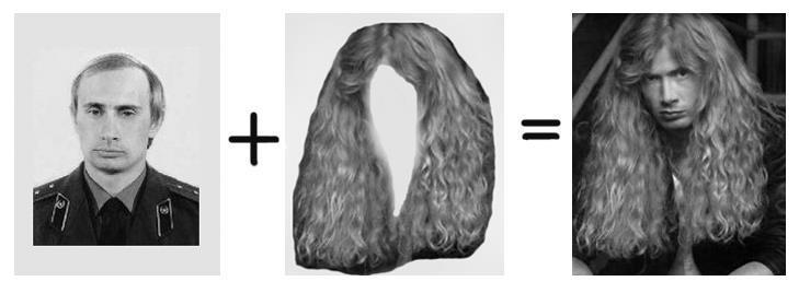 iheartchaos:  Putin and Dave Mustaine… same person?  lolololol