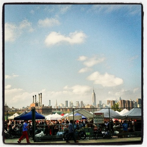 Smorg & The City.  (Taken with Instagram at Smorgasburg)