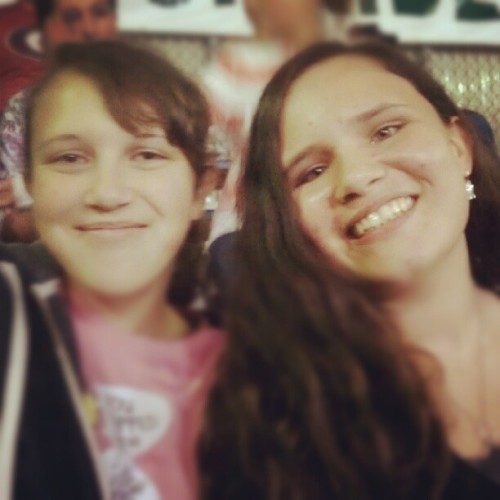 Lily and Monica!! Love you guys! <3 (Taken with Instagram at Civic Field)