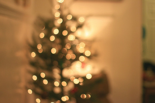 christmas tree bokeh by j.caron on Flickr.