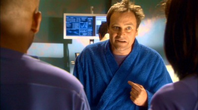 heckyeahdavidhewlett:  McKAY (interrupting): You were sent on a routine cataloguing of one of the abandoned Ancient labs, and you activate some alien device without having the first clue what it was?! WATSON: We thought it was… McKAY (interrupting): Yes, well you thought wrong. HEWSTON: Yeah, but just the other week you did the exact same thing, so I don't… McKAY (interrupting): Well I am me. If I make a mistake, I can fix it. You are you, and when you make mistakes, you don't have to fix them. I do. HEWSTON: The second we realized it was emitting radiation, we turned it off. McKAY: So what?! What, you want a medal? Look, my four year old niece could figure out to turn something off if it was emitting radiation. That does not make you smart — that just makes you a little less stupid.