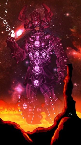modhero:  Check out this crazy awesome Galactus by Gerry Obadiah Salam.