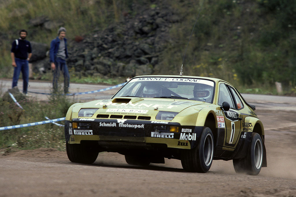 Beast of a rally car, 924 Carrera GTS.