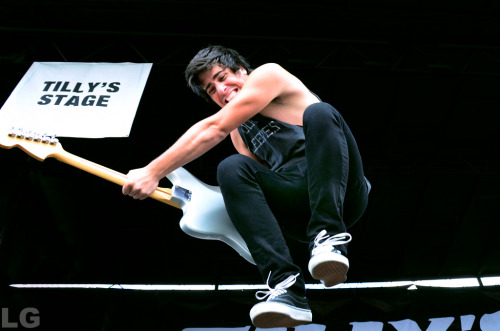 (by Lori Gutman) Cameron Hurley, We Are The In CrowdJuly 21, 2012Vans Warped Tour 2012