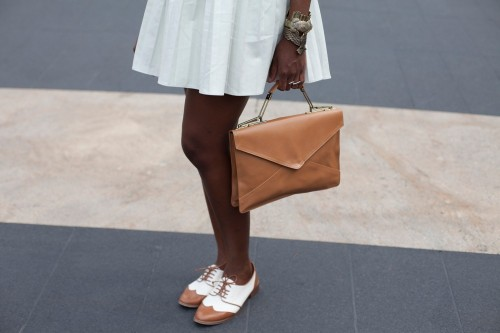 what-do-i-wear:  Joy Adaeze's vintage bag. (image: refinery29)