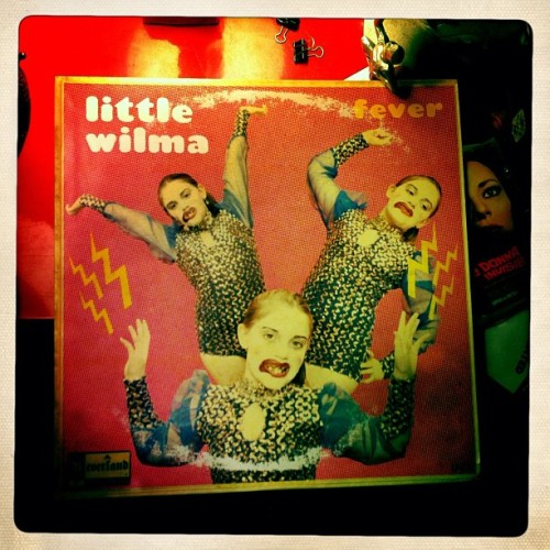 "LITTLE WILMA ""Fever""! Ultra rare LP. #vinyl (Taken with Instagram)"