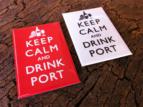 Made these Keep Calm and Drink Port magnetics. If you ever visit Porto, you can find them and many other awesome Porto goodies and souvenirs at GAB, located in Rua Santa Catarina 236 www.facebook.com/oportogab