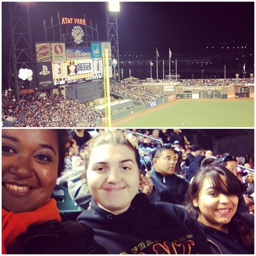 #giants #saturday #attpark #baseball #girlfriends #bestfriends @bubbi3s  (Taken with Instagram)