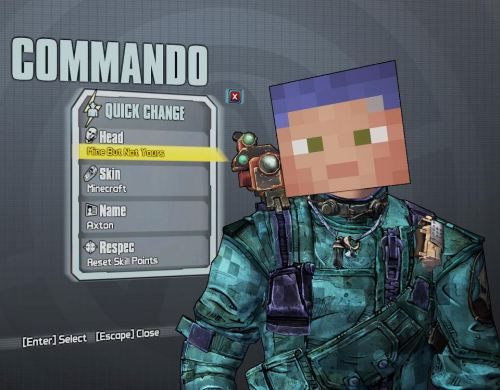 m1n3cr4ft:  check out the borderlands 2 minecraft easter eggs and more here!