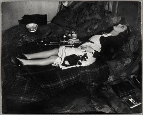 marydear:  Brassaï - An Opium Addict Sleeping Note kitty.