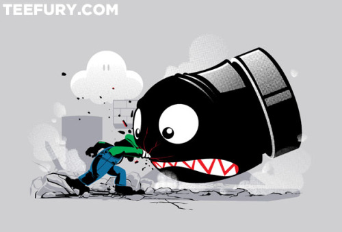 gamefreaksnz:  LUIGI: ALWAYS ANGRY by Adams Rebouças Pinto - Sold on September 23rd at Teefury USD$10 for 24 hours only