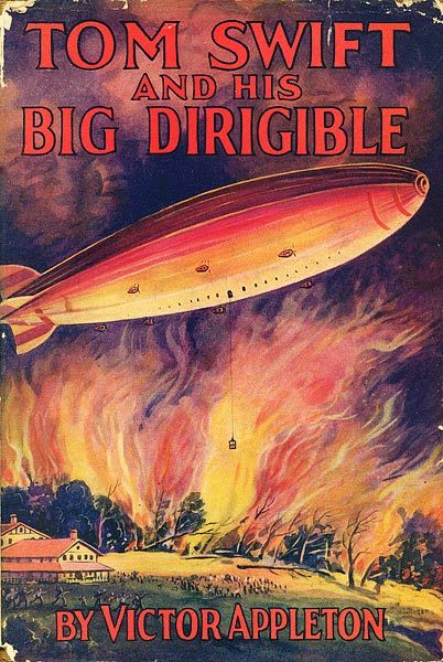 whitedogblog:  Tom Swift and his Big Dirigible, 1930