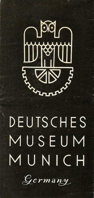 Deutsche Museum Munich, Germany - information leaflet, c1938 by mikeyashworth on Flickr.