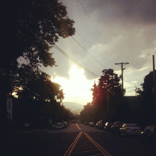 the golden hour (according to Ray Romano) #rutland #vt (Taken with Instagram)