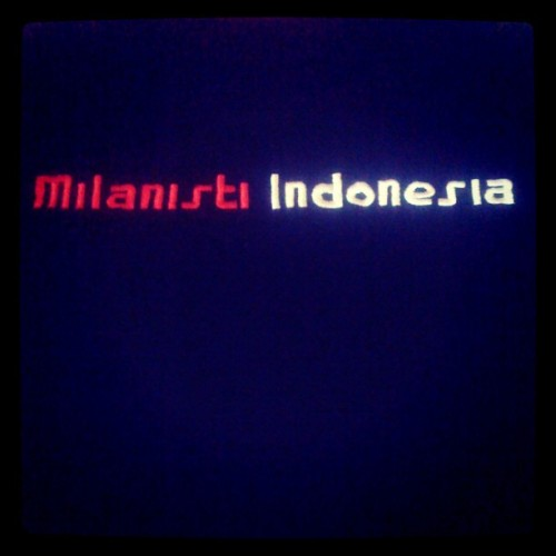 #MilanistiIndonesia #indonesia  (Taken with Instagram)