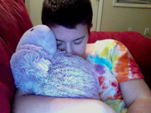 My hippo is my second best cuddler only to Jessie the dog.