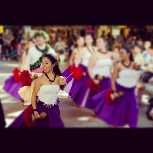 marzlani:  Dancing for the Aloha Week court last Sunday was an honor :) Hula, it's what I do <3 (Taken with Instagram)