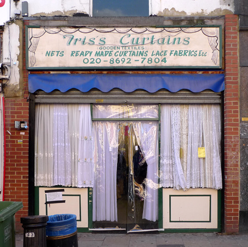 londonshopfronts:  Triss Curtains, Deptford High Street SE8