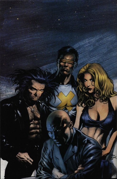 rustyosborn:  X-Men by Mike Deodato Jr.
