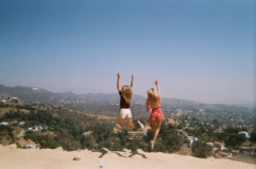 flohralist:  onlyifthereislollies:  We captured it. Disposable film camera shot at Runyon  this is beautiful