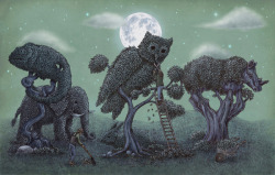 The Topiary Menagerie, Terry Fan