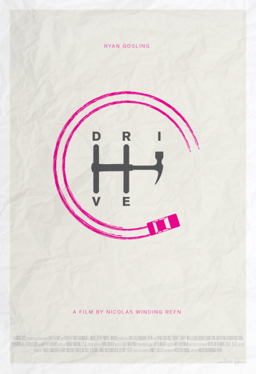 minimalmovieposters:  Drive by Hunter Langston