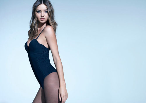 Miranda Kerr by Eric Guillemain  i think she's in a leotard. but anw. i dont think i ever looked that good in a leotard -_-