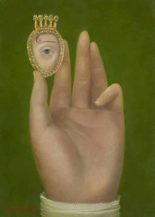 sisterwolf:  Hand with Lover's Eye - Fatima Ronquillo