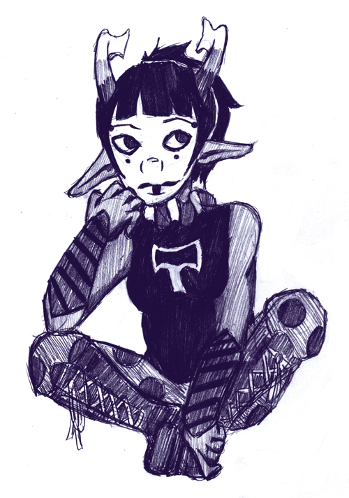 Here have a Lydain being a cute because I have a fantroll problem