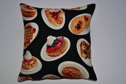 The Waffle Cushion, available from midnight at www.thenightofthelivingthread.com Can't wait to hear what you think to the new range!!