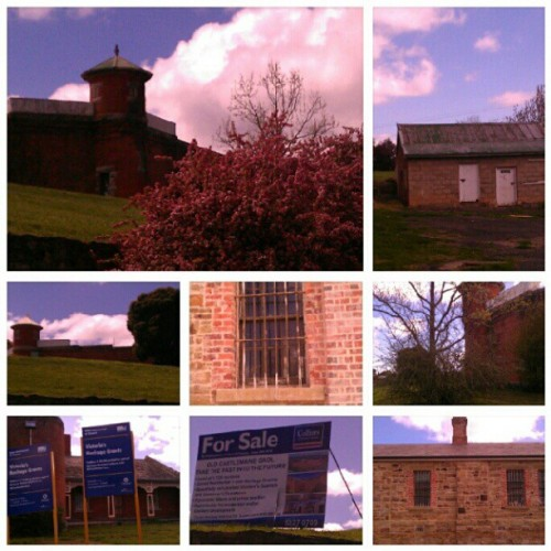 Castlemaine Gaol. Built in the mid-1800s to imprison offenders during Victoria's goldrush, it staged 10 documented executions, the last held in 1876. It was decomissioned as a jail in 1990, having since undergone several transformations: as a hotel, tourist attraction, school camp, conference centre, and most recently as a community radio station. Although it is a Heritage Australia site, the Mount Alexander Council recently sold it, and parts of the gaol will apparently undergo residential development. The location is lovely, but can you picture yourself living in an ex-jail?  (Taken with Instagram)