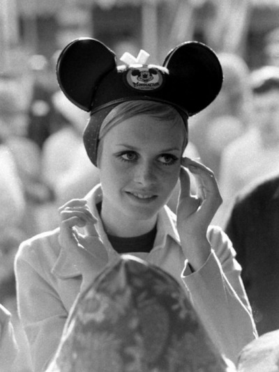 Twiggy in Disneyland,1967
