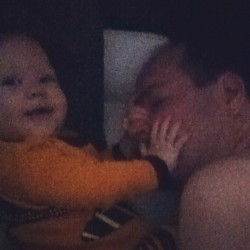 The joys of cosleeping.  (Taken with Instagram)