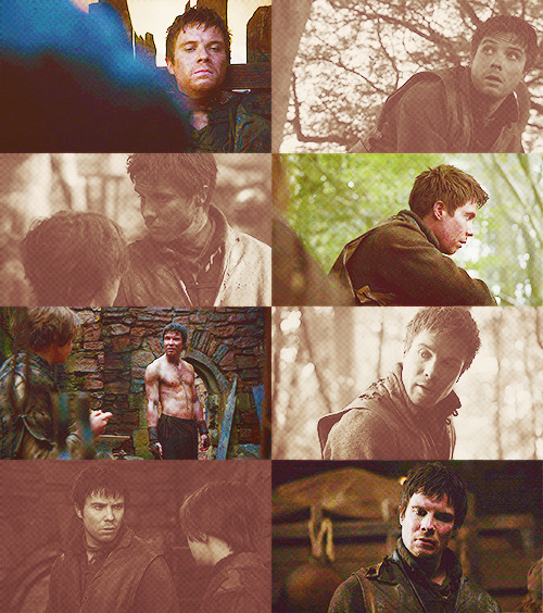 random Gendry screencaps → just because