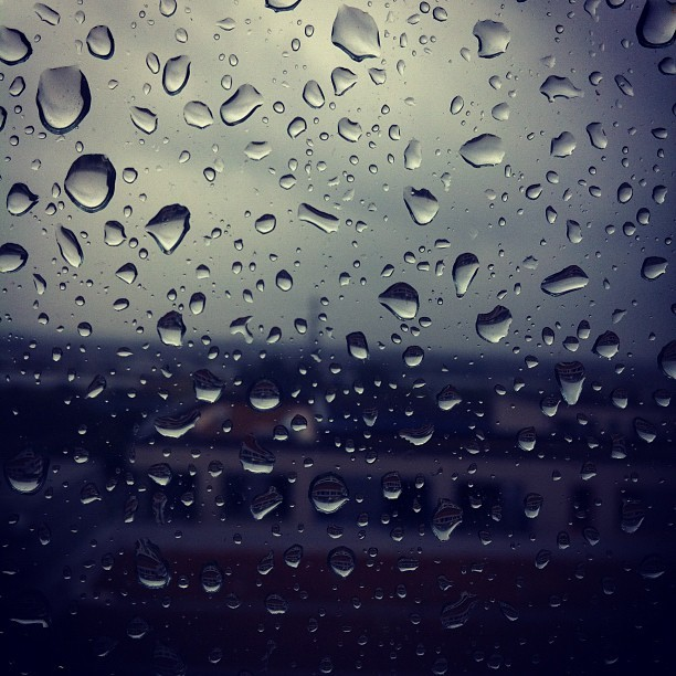 #Rain in #London  (Taken with Instagram)