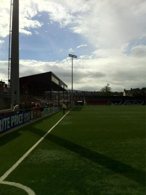 Seaview, Crusaders FC, Northern Ireland (submitted by CE)