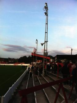 Hurst Cross, Ashton United FC, England (submitted by RB)